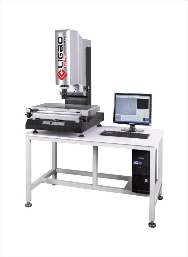HF-3020 手动二次元影像测量仪 一、影像仪特性 1、利用光学原理,非接触试测量; 2、适用以二坐标测量为目的的一切领域; 3、是小、薄、软、零部件的最佳测量解决方案; 4、可对点、线、圆、角度、等元素实现精准测量; 5、并具有强大报表输出功能、优质、经济、实用; 二、二、精密机械、主要特点 1、精密传动装备设计,实现快速移动。 2、高精密大理石底座,立柱框架稳定可靠。 3、精密P级直线导轨及V型导轨,拥有极高的直线性, 4、保证机器精度及使用寿命。 5、日本索尼彩色CCD,拥有更高清测量画面。 6、